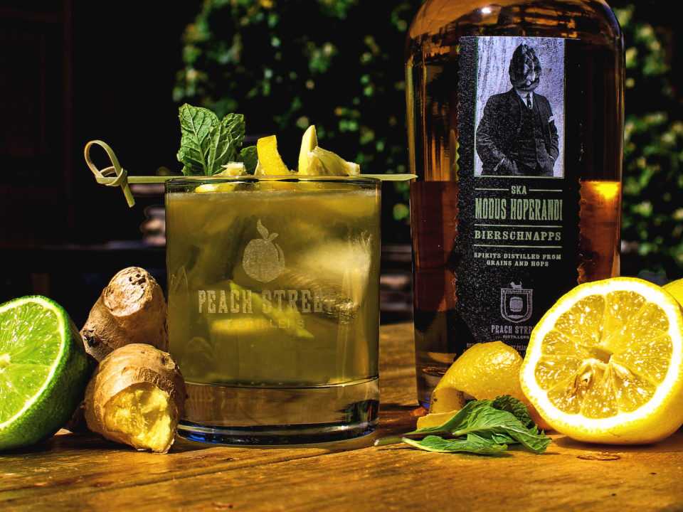Photo courtesy of Peach Street Distillers