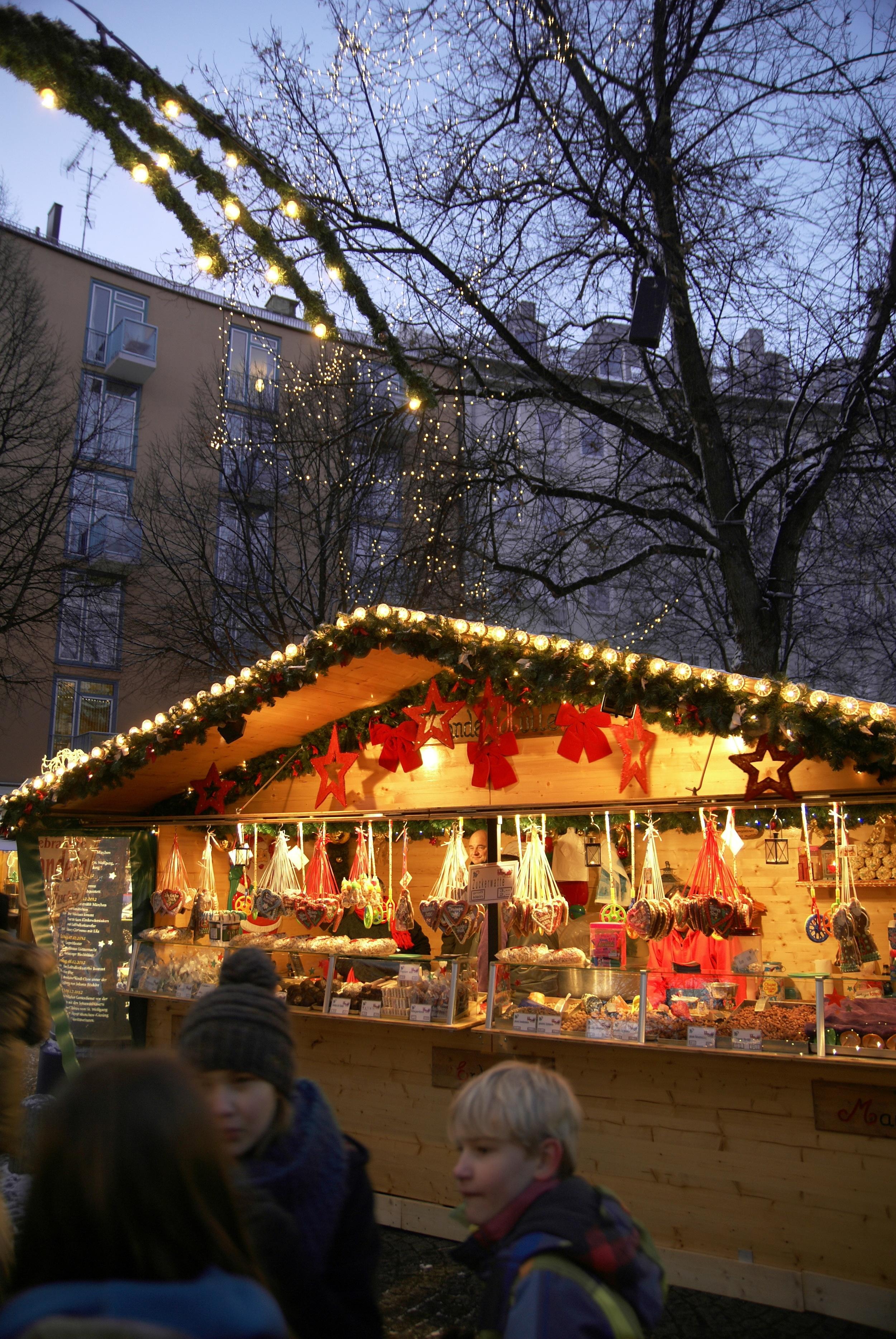 Julemarkeder i München