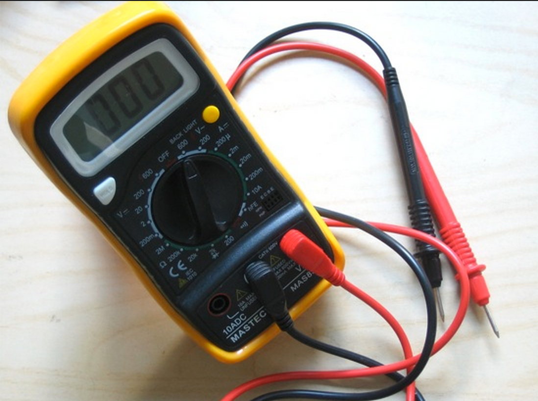 voltage/ohm meter