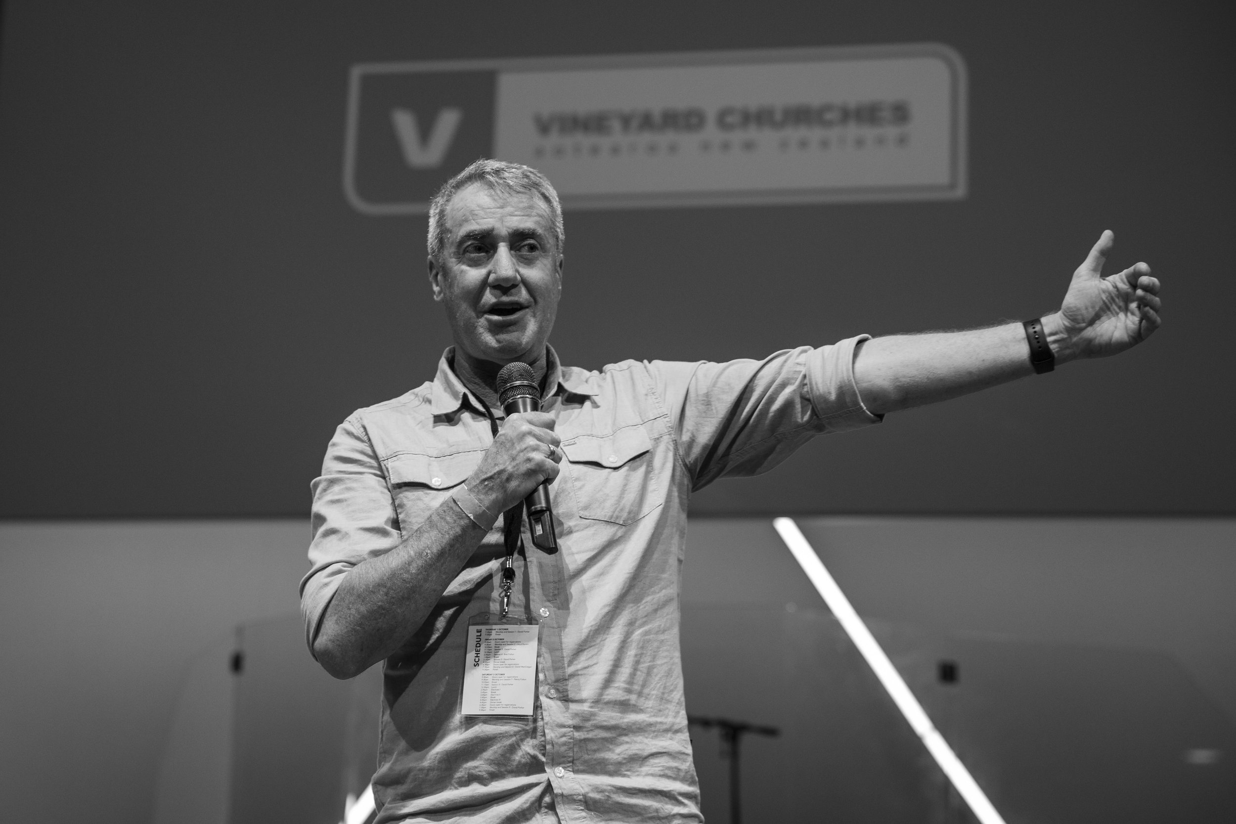 Lloyd Rankin, national director of  Vineyard Churches Aotearoa NZ , is coming to speak on Sunday, November 13. Lloyd and his wife Victoria pioneered the Vineyard movement here in NZ and have planted several churches over the last two decades.