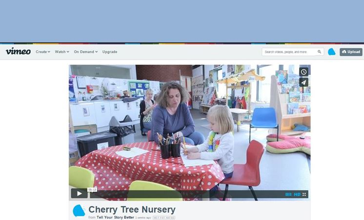 Film backed by brand messaging research tells Cherry Tree Nursery's story