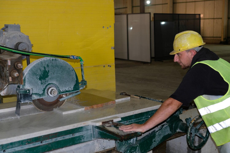 Manual Tile Cutting