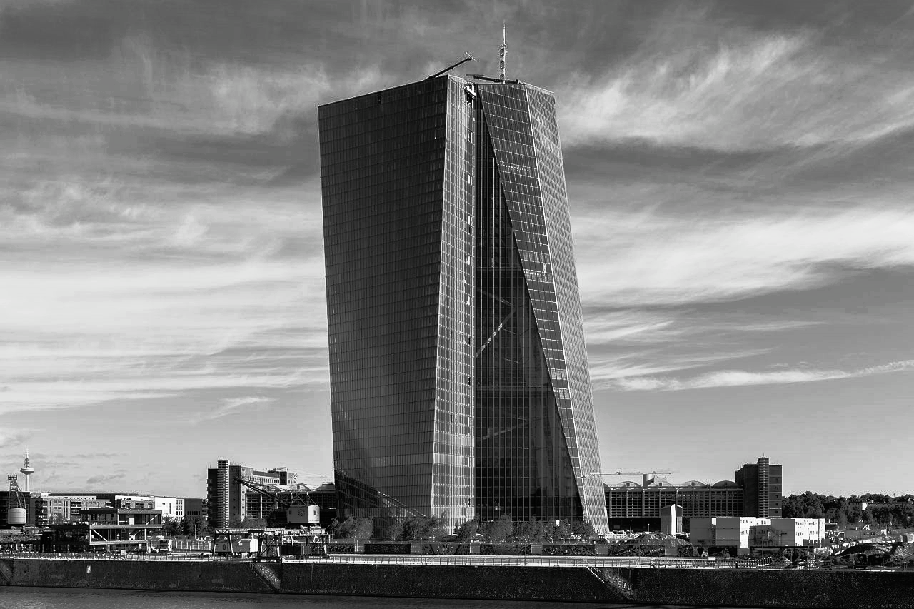New building of the European Central Bank in Frankfurt Main, Germany  by Norbert Nagel, 2014