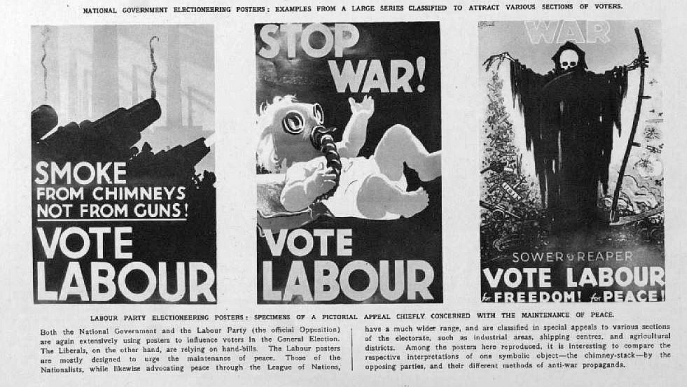 Election Hoarding Posters 1935