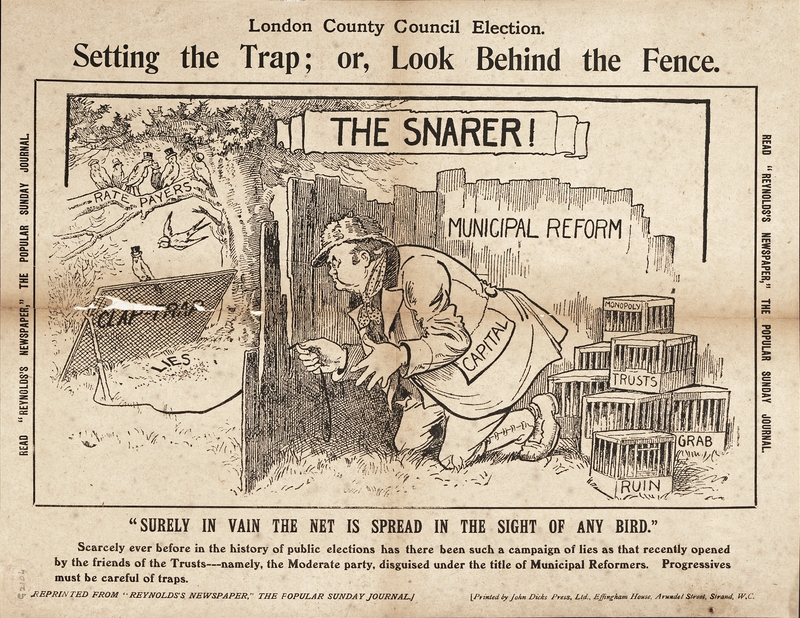 Learning from history - progressives, beware of political traps!    Photo via LSE Digital Library http://digital.library.lse.ac.uk/objects/lse:lip523xap