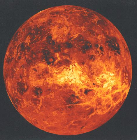 Venus from NASA, via Wikimedia