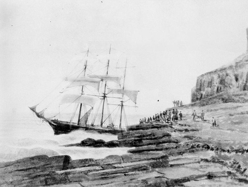 Is the UK economy heading straight for the rocks?  John Weeks is not convinced.  Image via Wikimedia  https://commons.wikimedia.org/wiki/File:StateLibQld_1_101788_Lammershagen_(ship).jpg