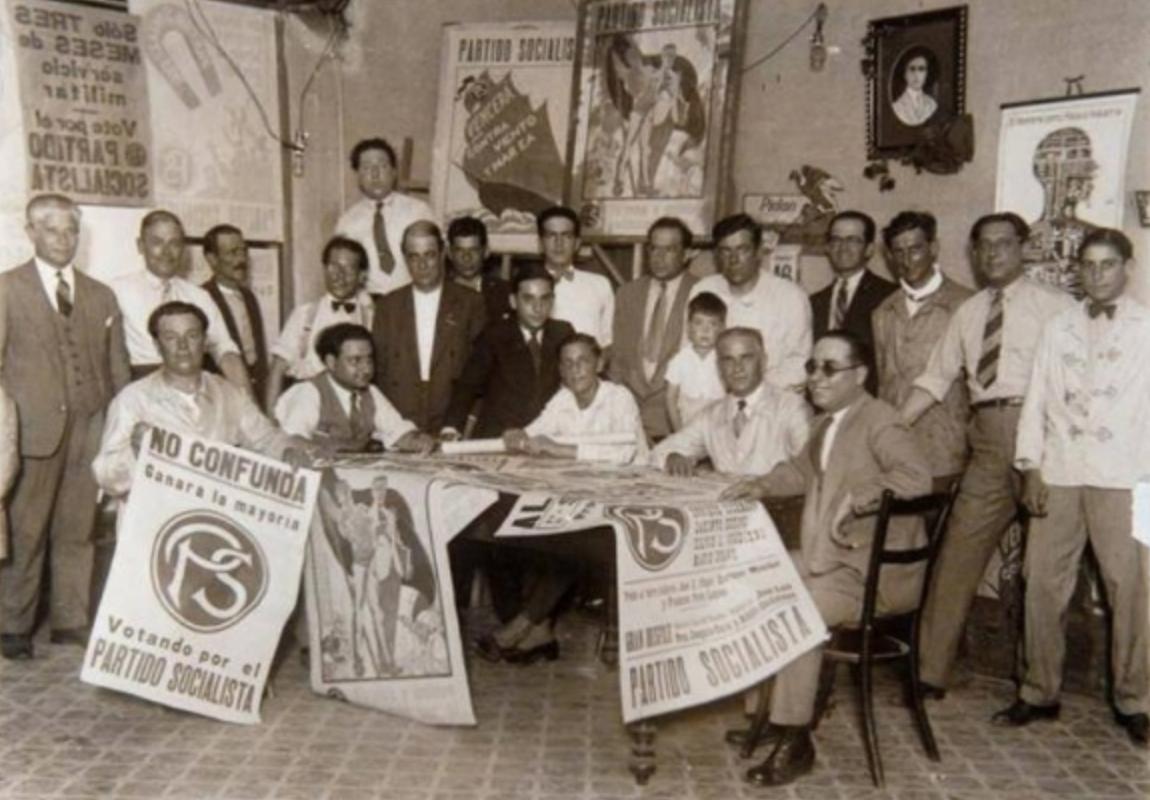 Acknowledgements to wikimedia.https://commons.wikimedia.org/wiki/File:Historia_del_partido_socialista.jpg