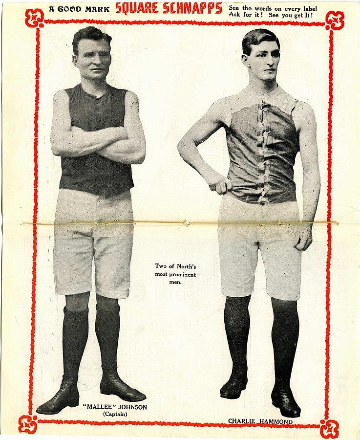 Messrs Johnson & Hammond, circa 1910 - photo via    Wikimedia Commons