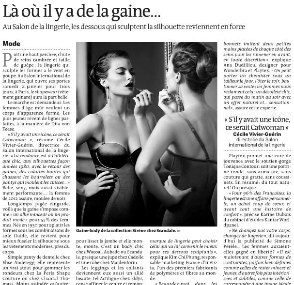 Scandale in Le Monde - 2012