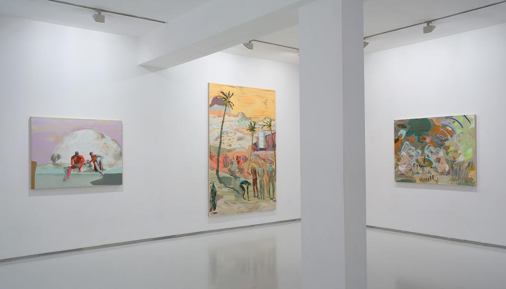 """After"" 2009. Noga Gallery, Tel Aviv"