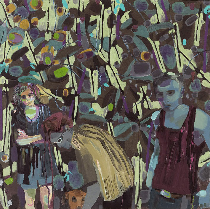 Three in the Garden and Rosco, 2009