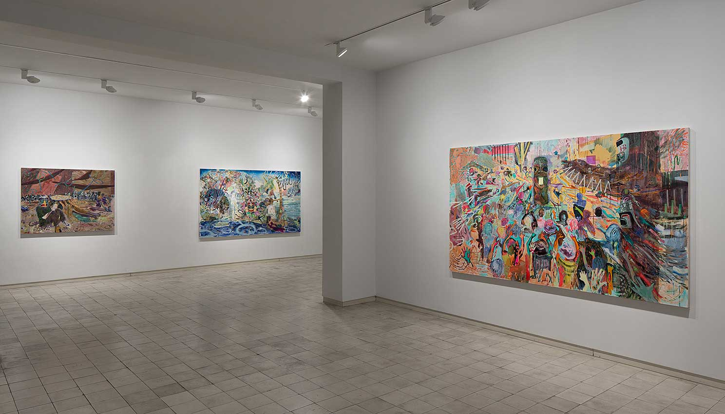 """Raven and the Leftover Men"", Chelouche Gallery, Tel Aviv"