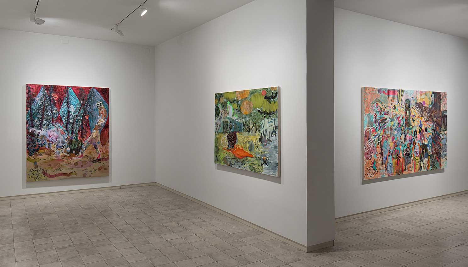 """""""Raven and the Leftover Men"""", Chelouche Gallery, Tel Aviv"""