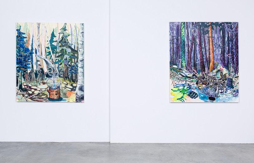 Installation view, Shulamit Nazarian Gallery, LA.
