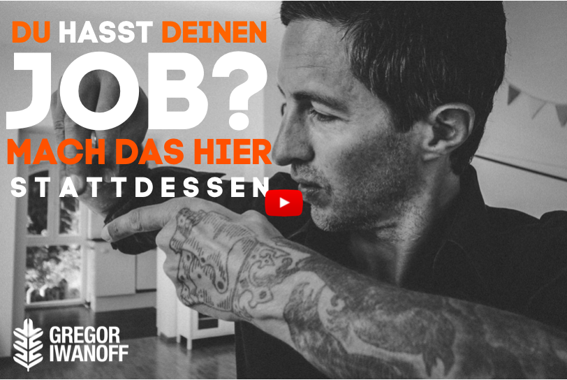Du hasst deinen Job? Mach das stattdessen! VIDEO