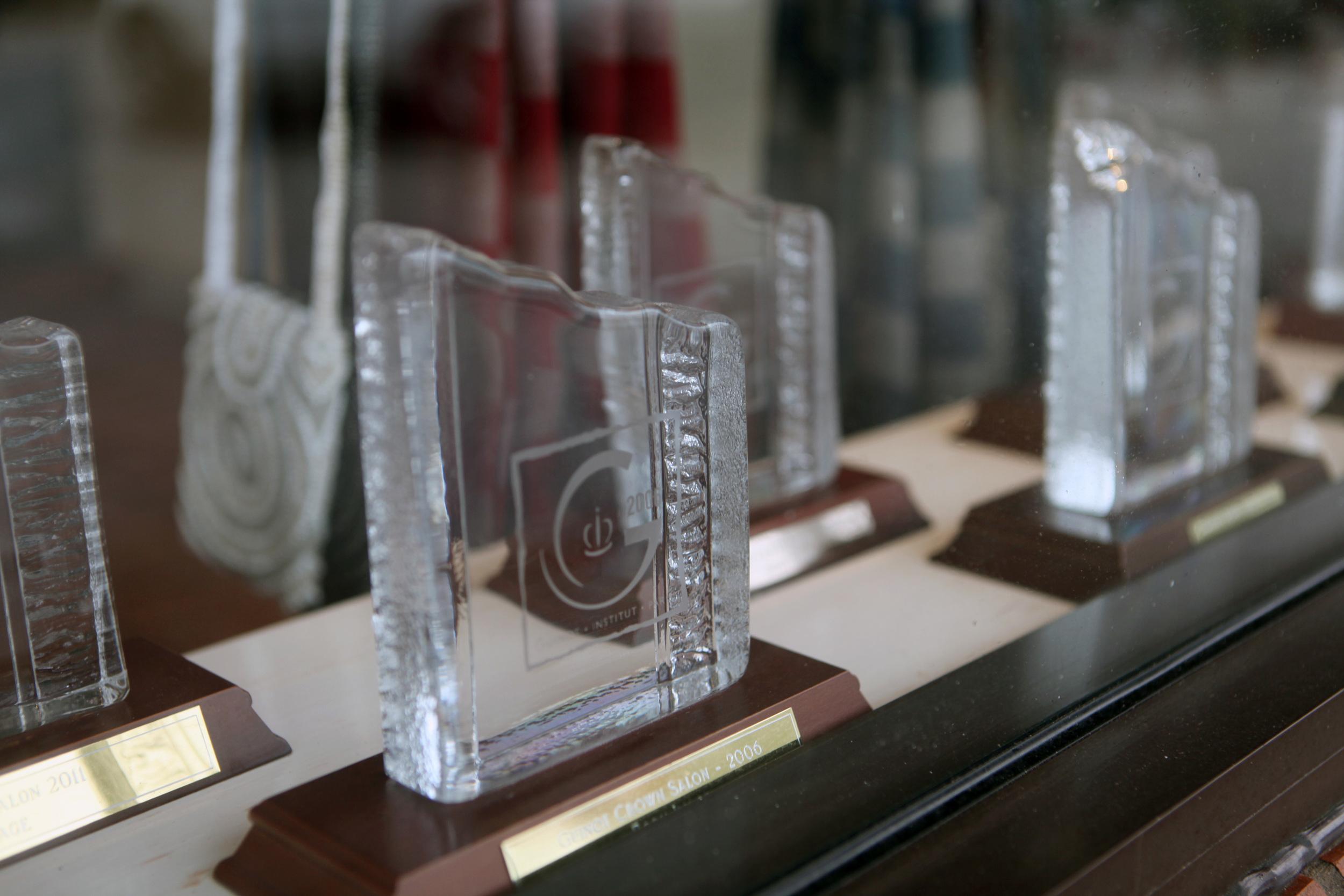 Guinot Crown Salon Award Winners 2000 to 2017