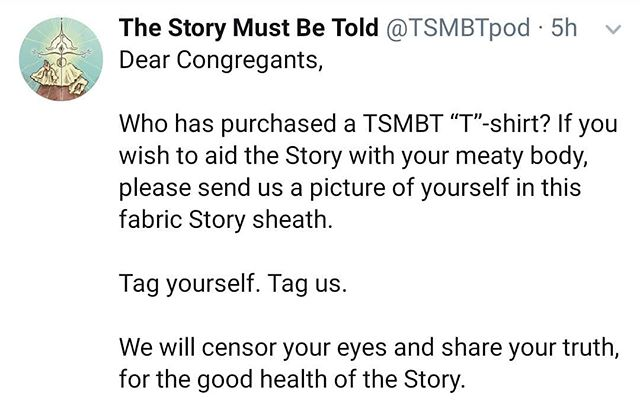 Help us spread the Word of the Story!
