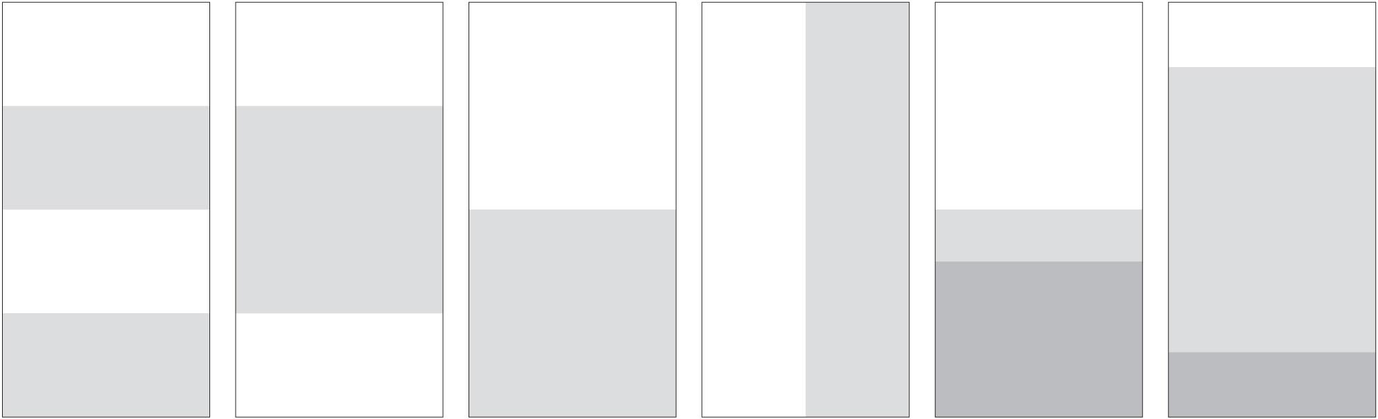 Single Panel Variations