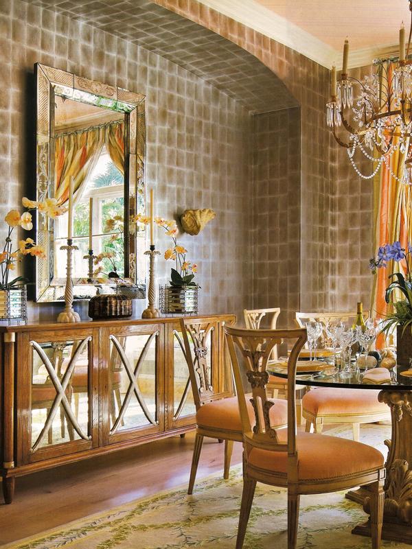 Interior by Mario Buatta, New York NY