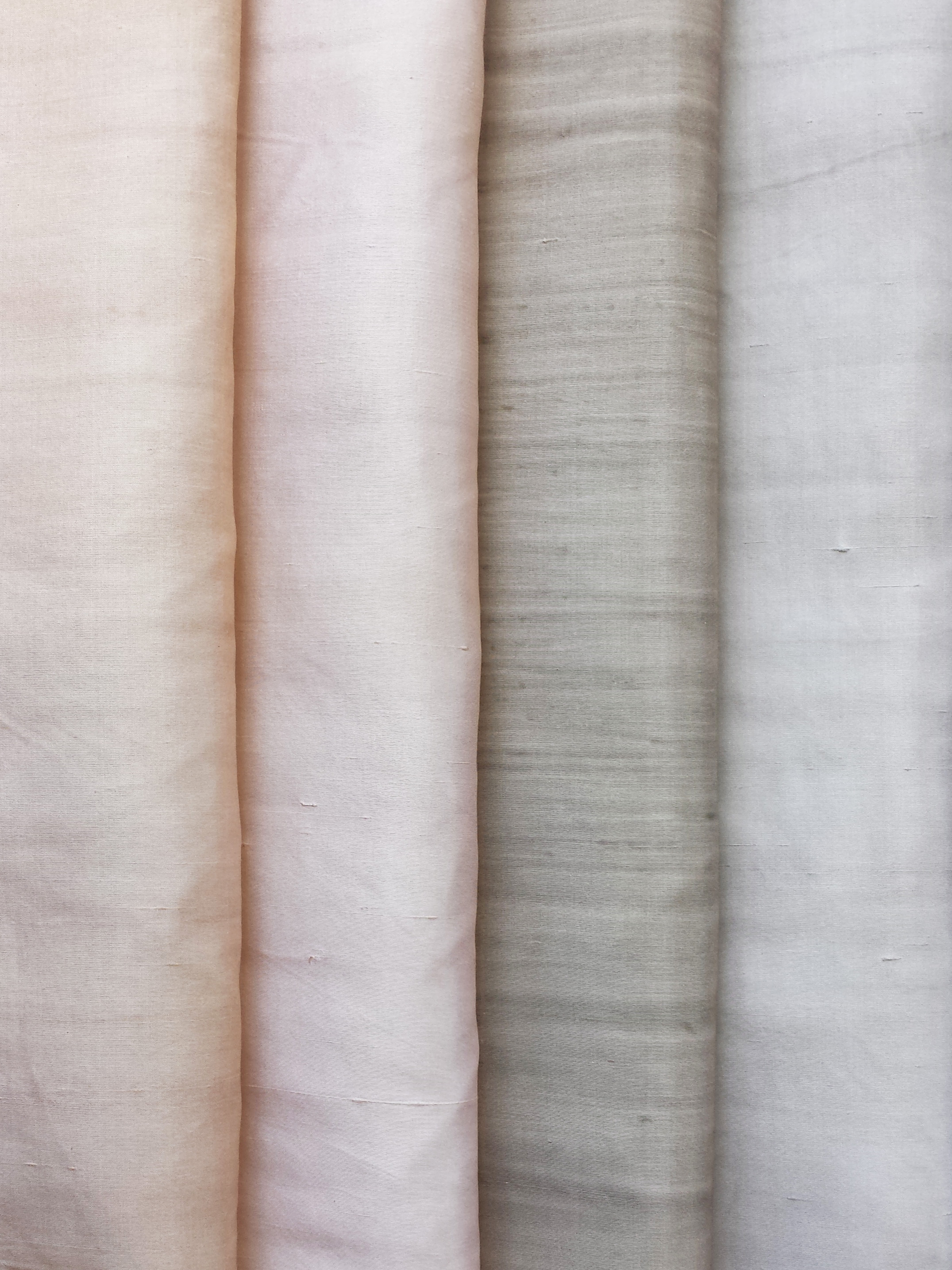 """Lawless"" dupione silk variations"
