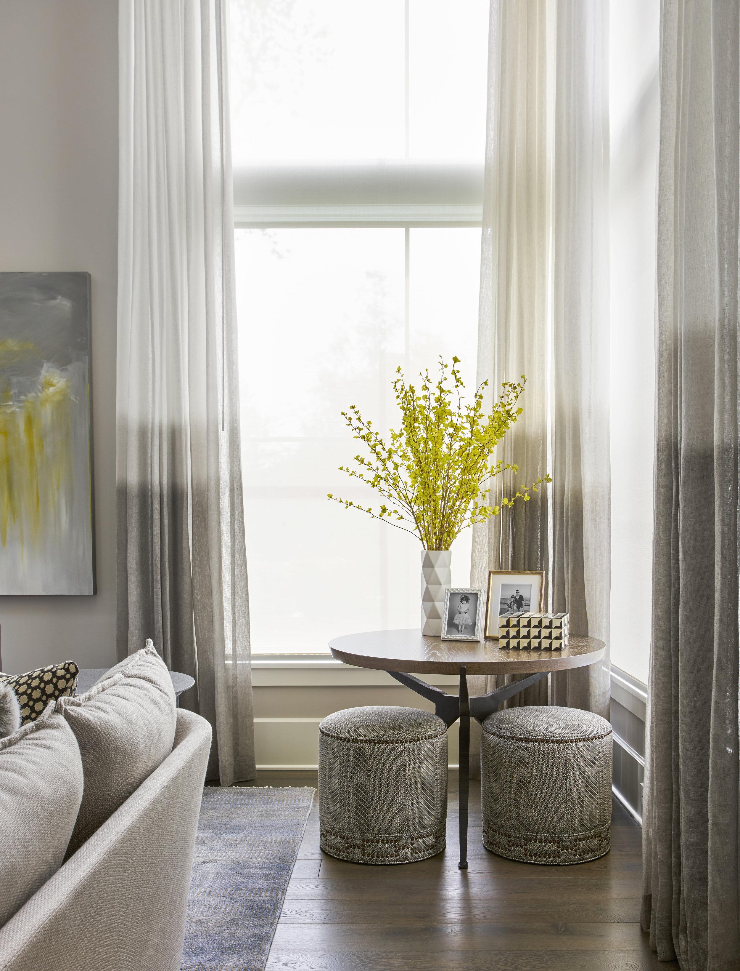 Interior by  Elizabeth Krueger Design , Chicago IL