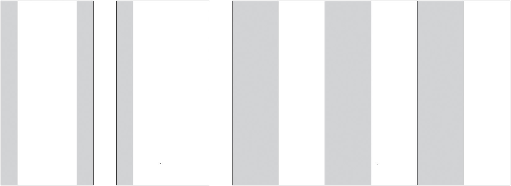 "Standard Double Edge Layout (108"" height by full width), Single Edge Panel and Multi-Panel Variations"