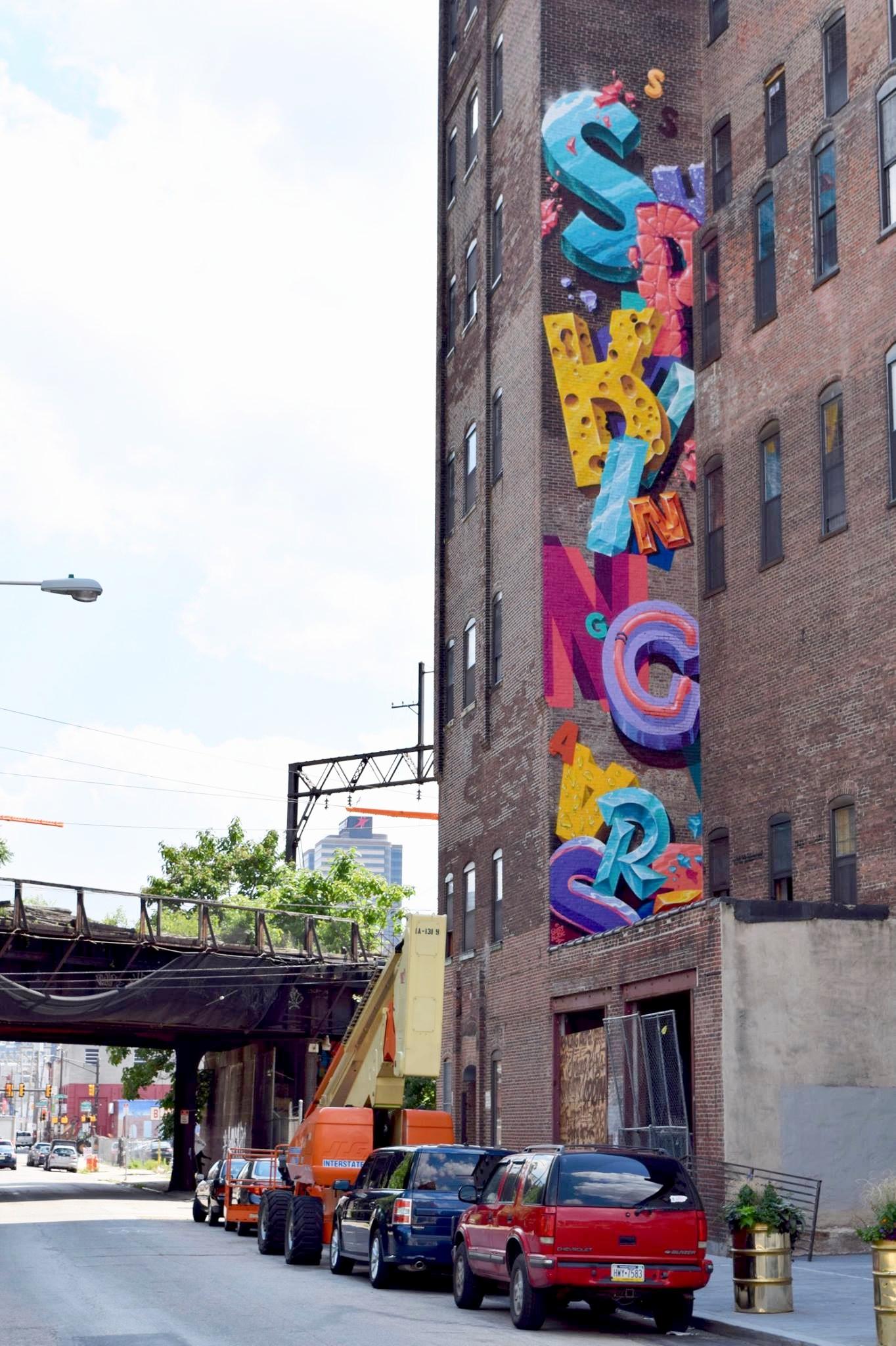'Spring Arts' Philadelphia Mural Arts Program