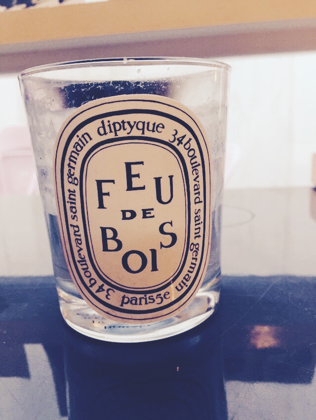 Everyone knows  Diptyque  candles. They're chic with subtle scents and have a long burning time. Feu de Bois (or wood fire) is a sophisticated blend of rare woods.