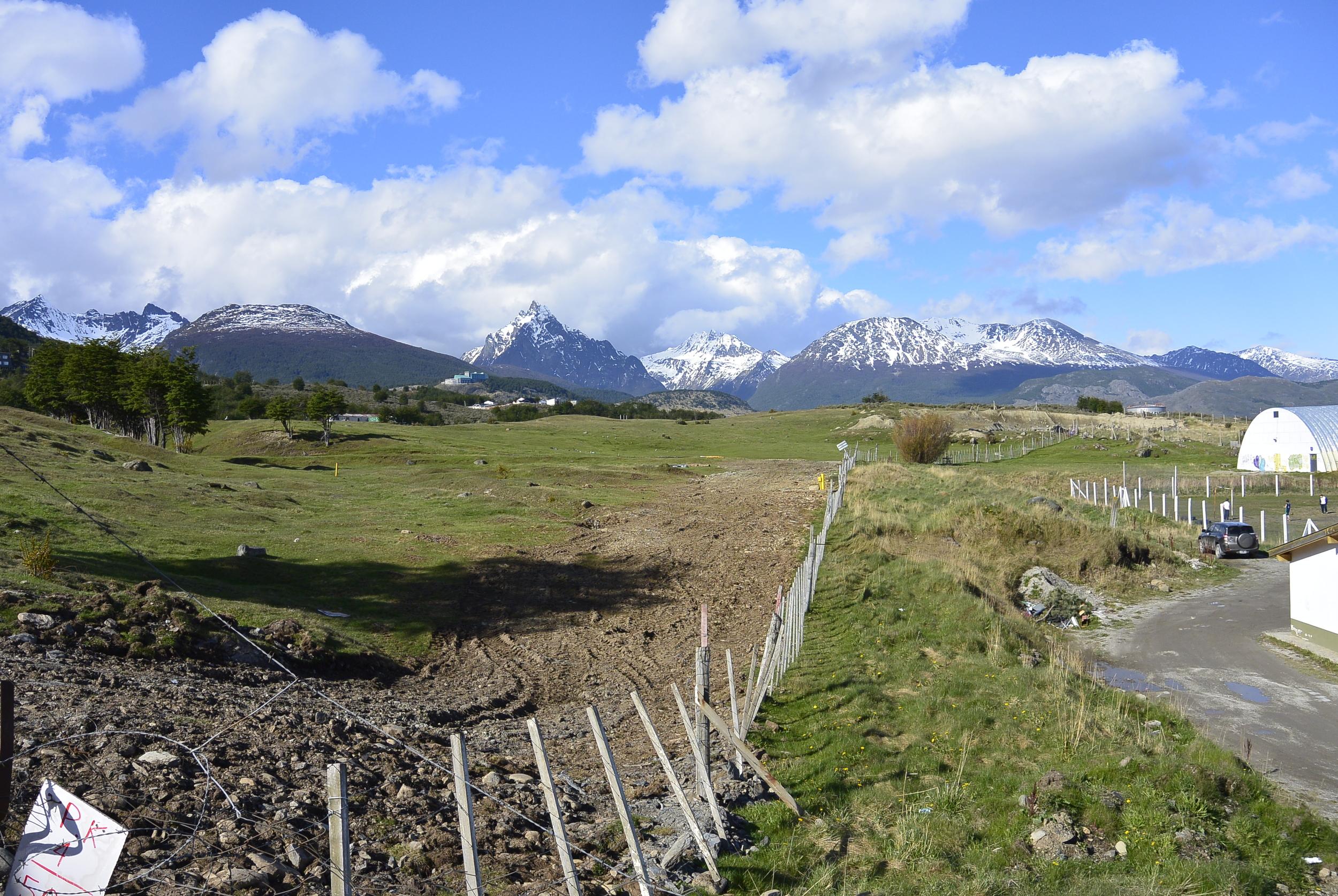 Ushuaia Argentina and Mountains