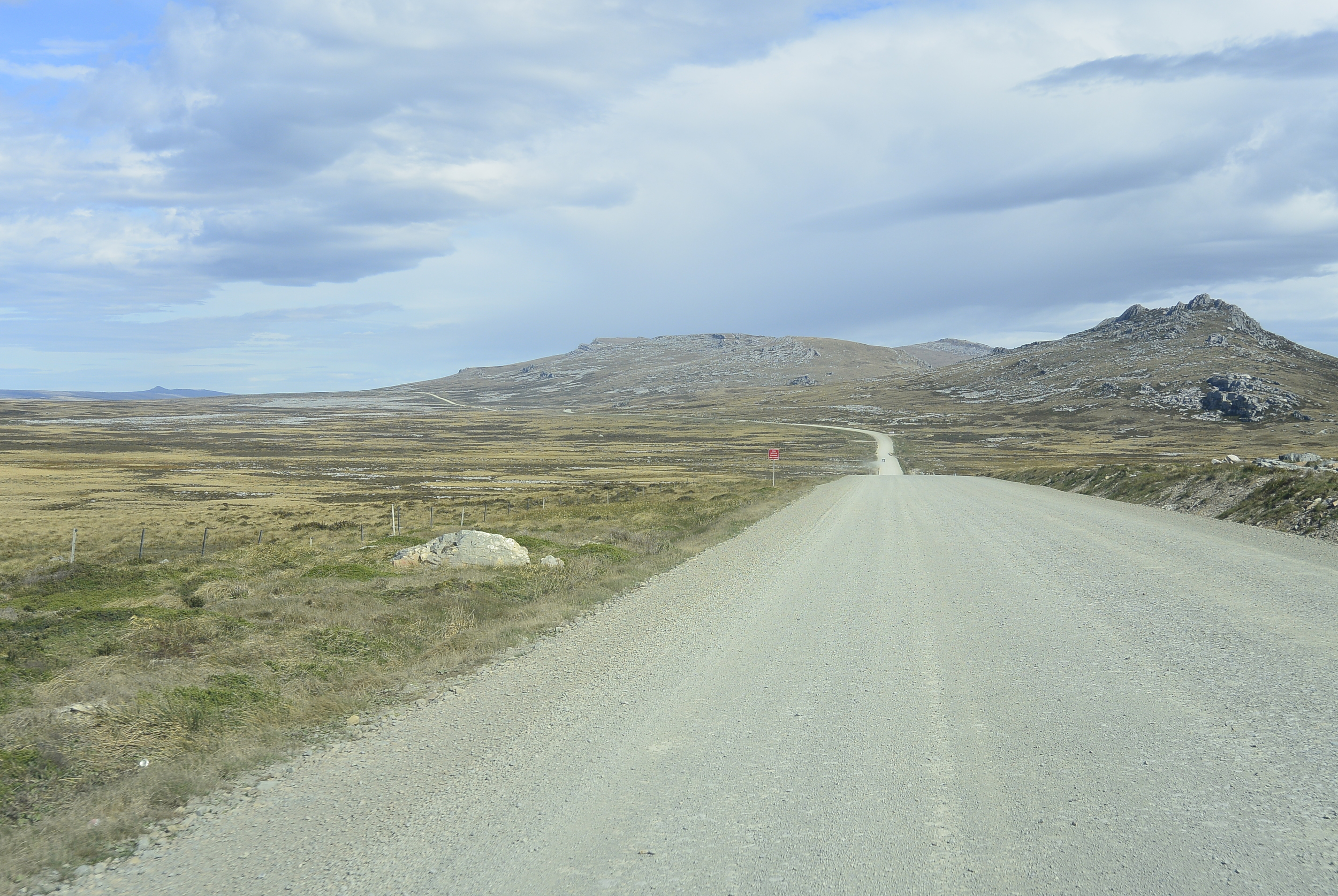 Falkland Islands Road