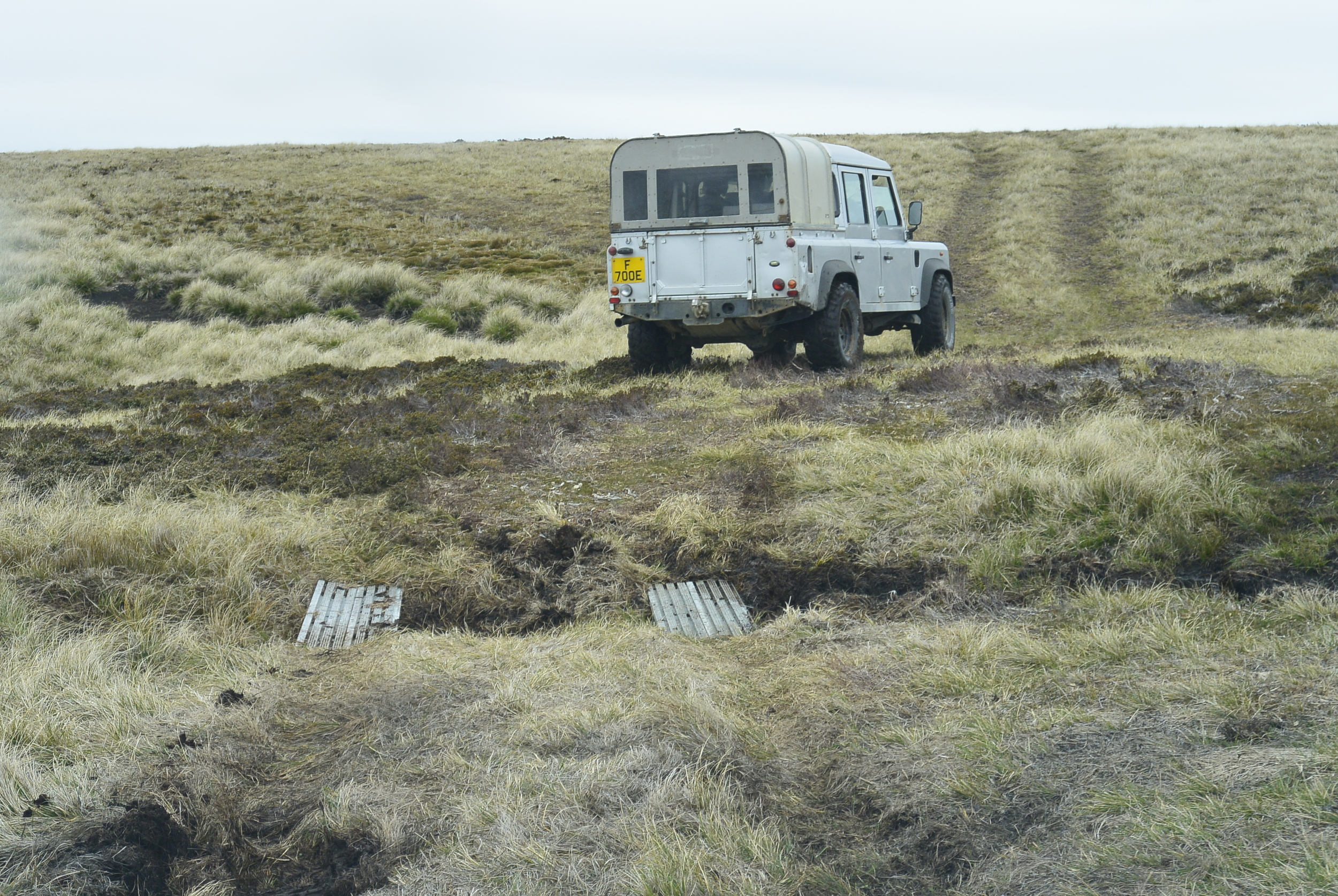 Falkland Islands Land Rover