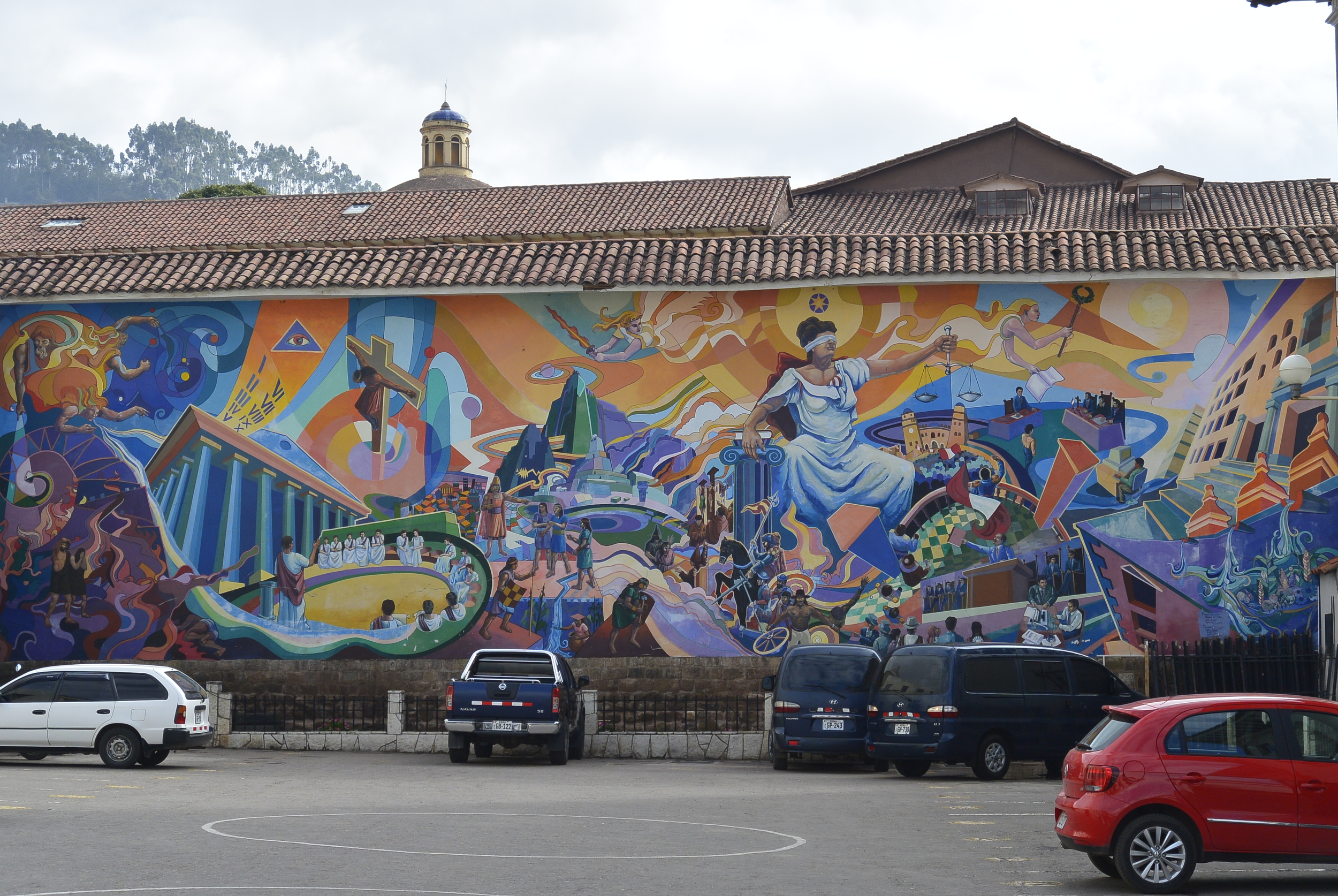 Cusco Peru Wall Mural Street Art