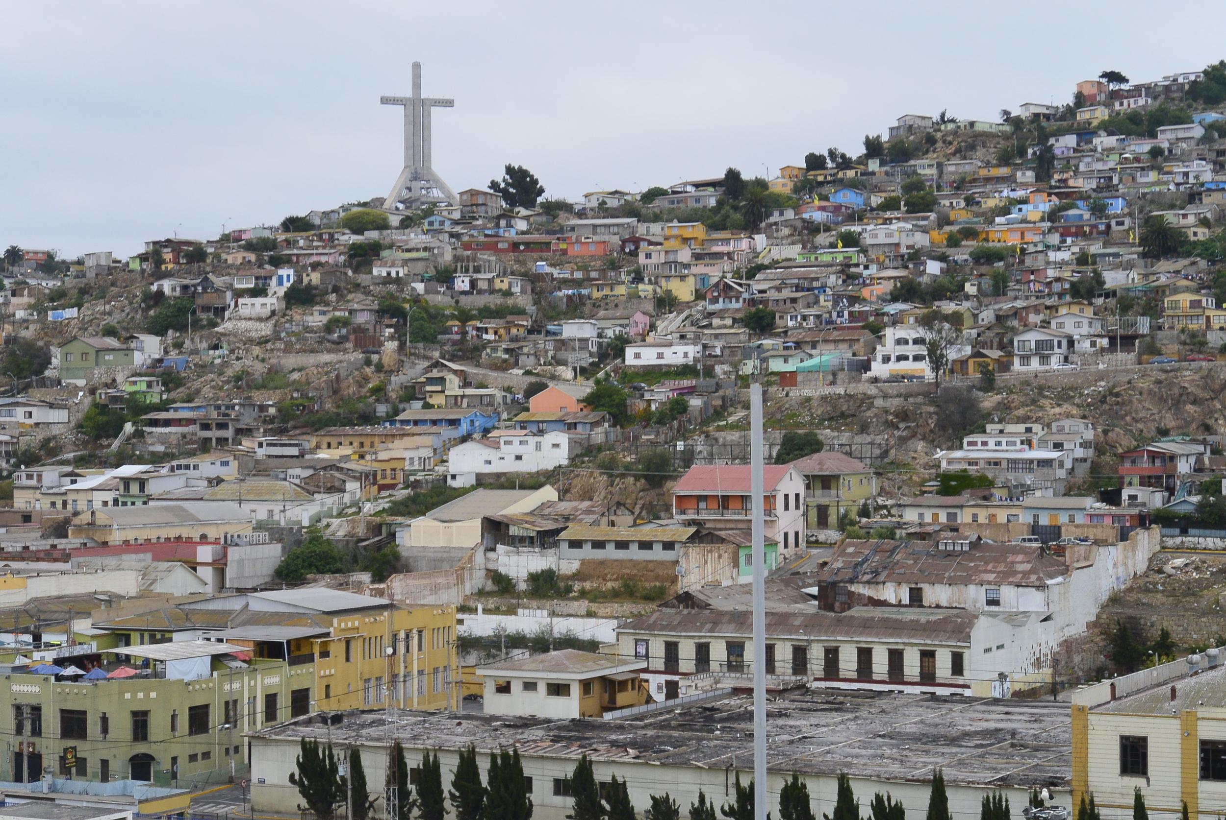 Third Millennium Cross Monument Coquimbo Chile