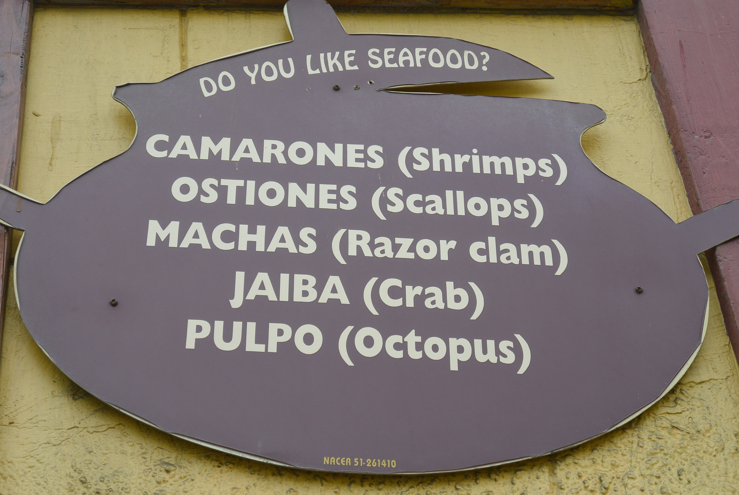 Do you like seafood? Coquimbo Chile