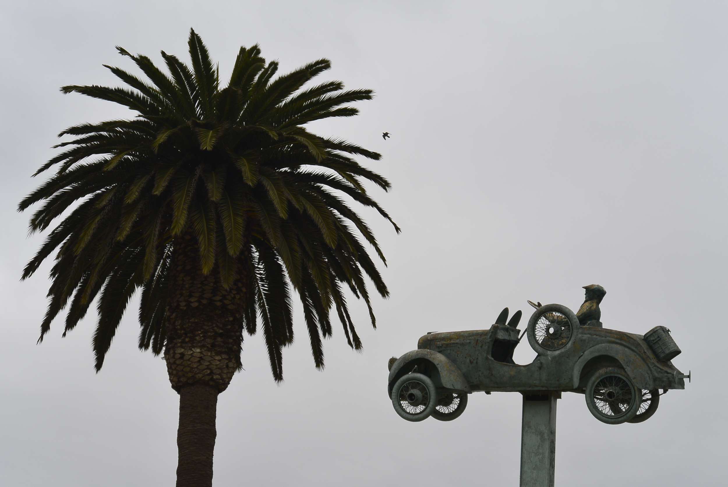 Car Monument Coquimbo Chile