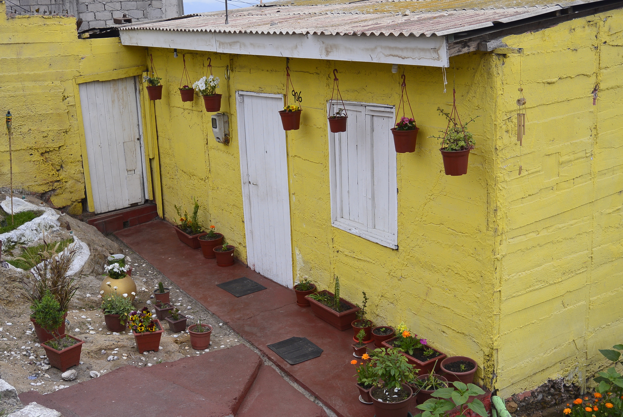 Coquimbo Chile Colorful House