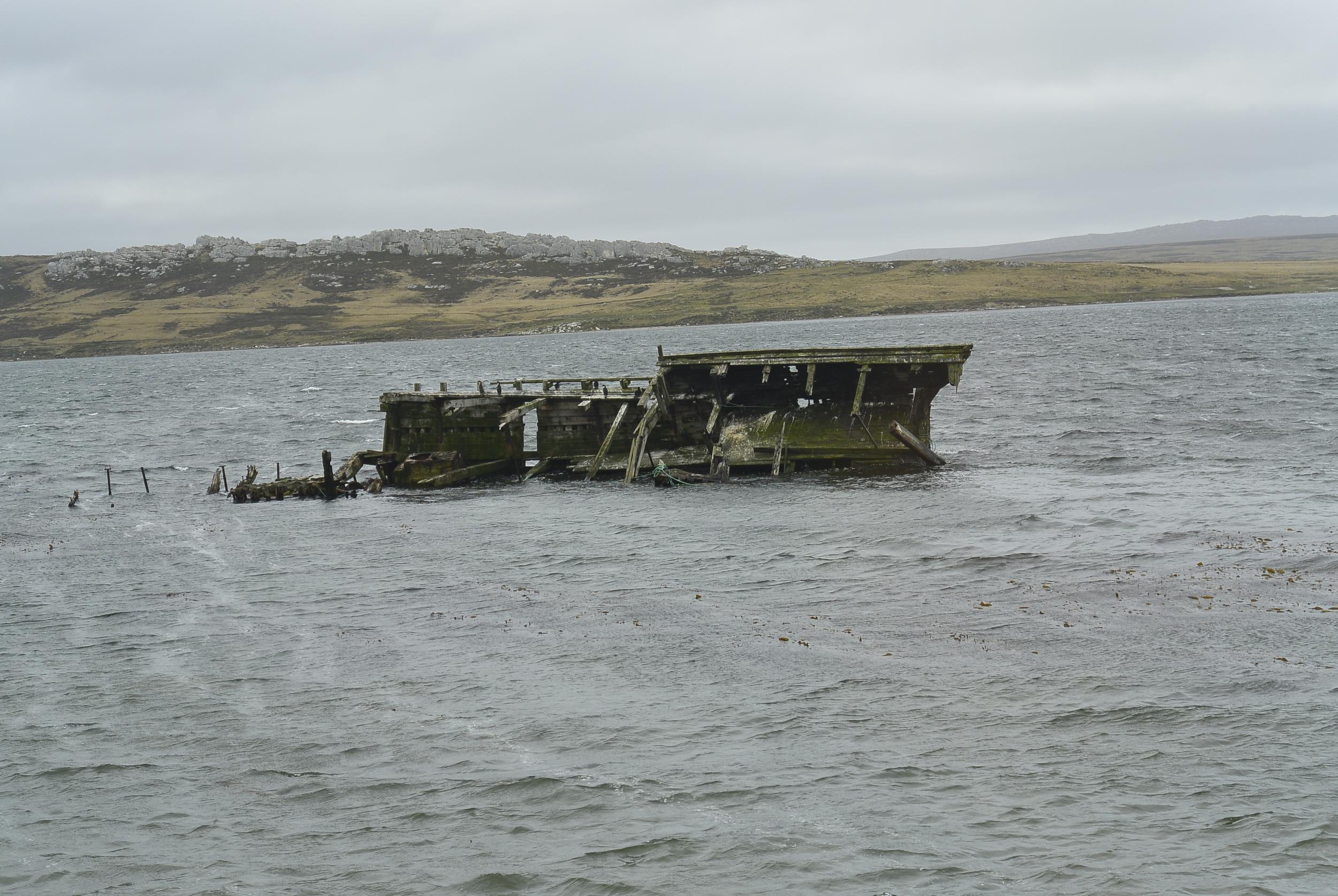 Shipwreck Falkland Islands