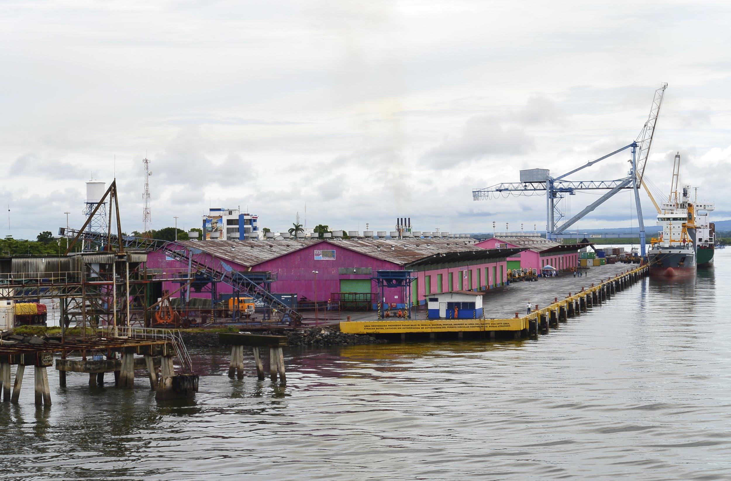 Port of Corinto Nicaragua
