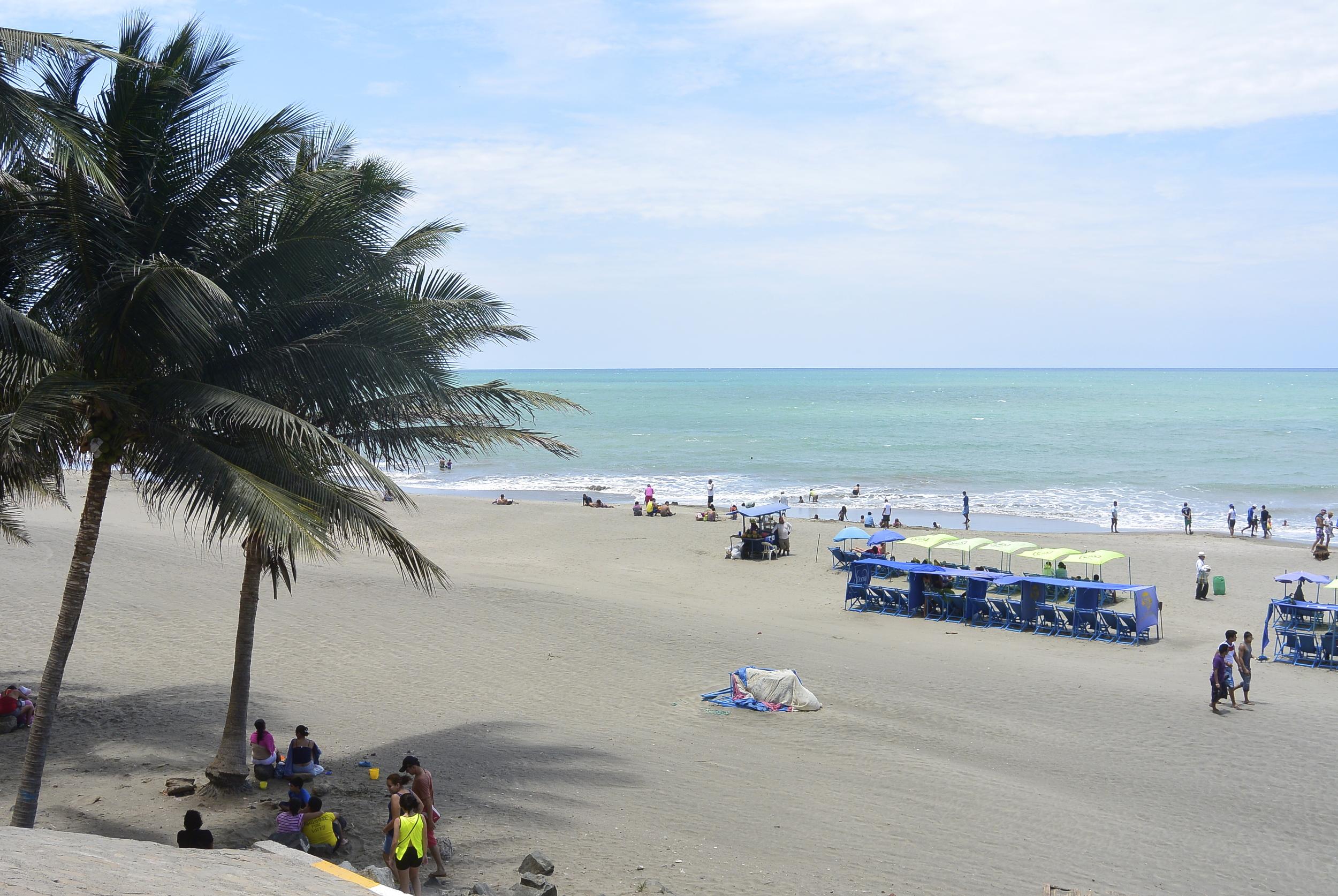 Manta Ecuador Beach