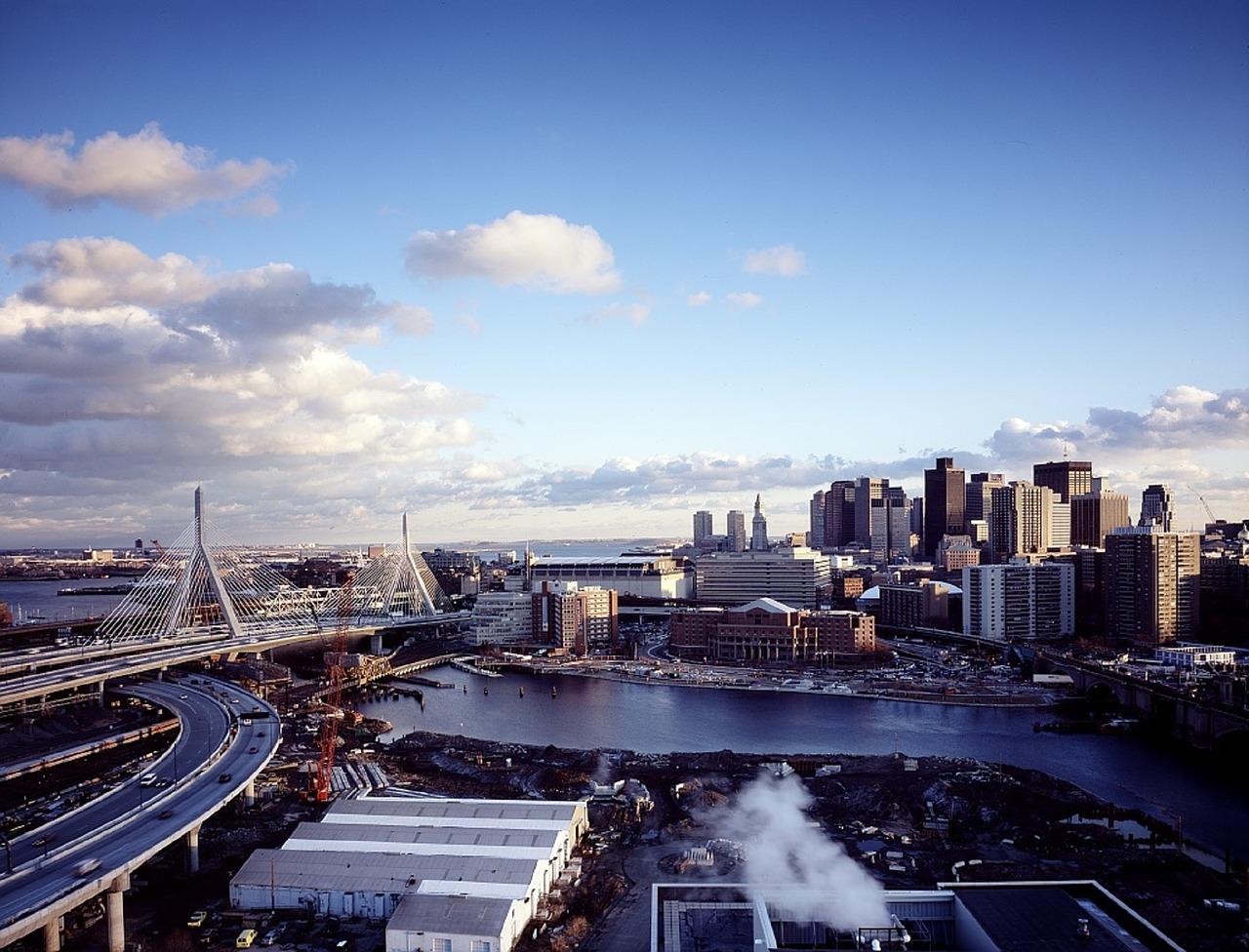 Boston skyline - Photograph courtesy of  Pixabay