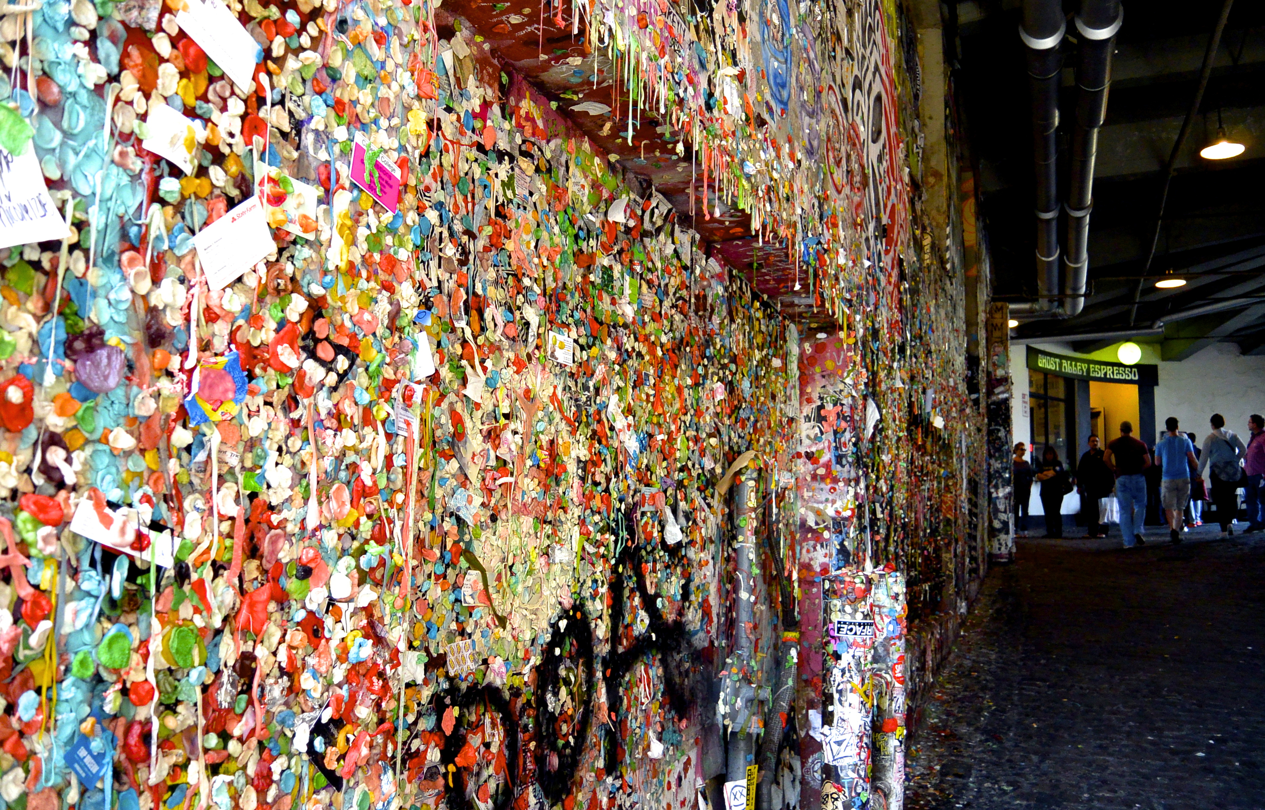 Post Alley Gum Wall Seattle