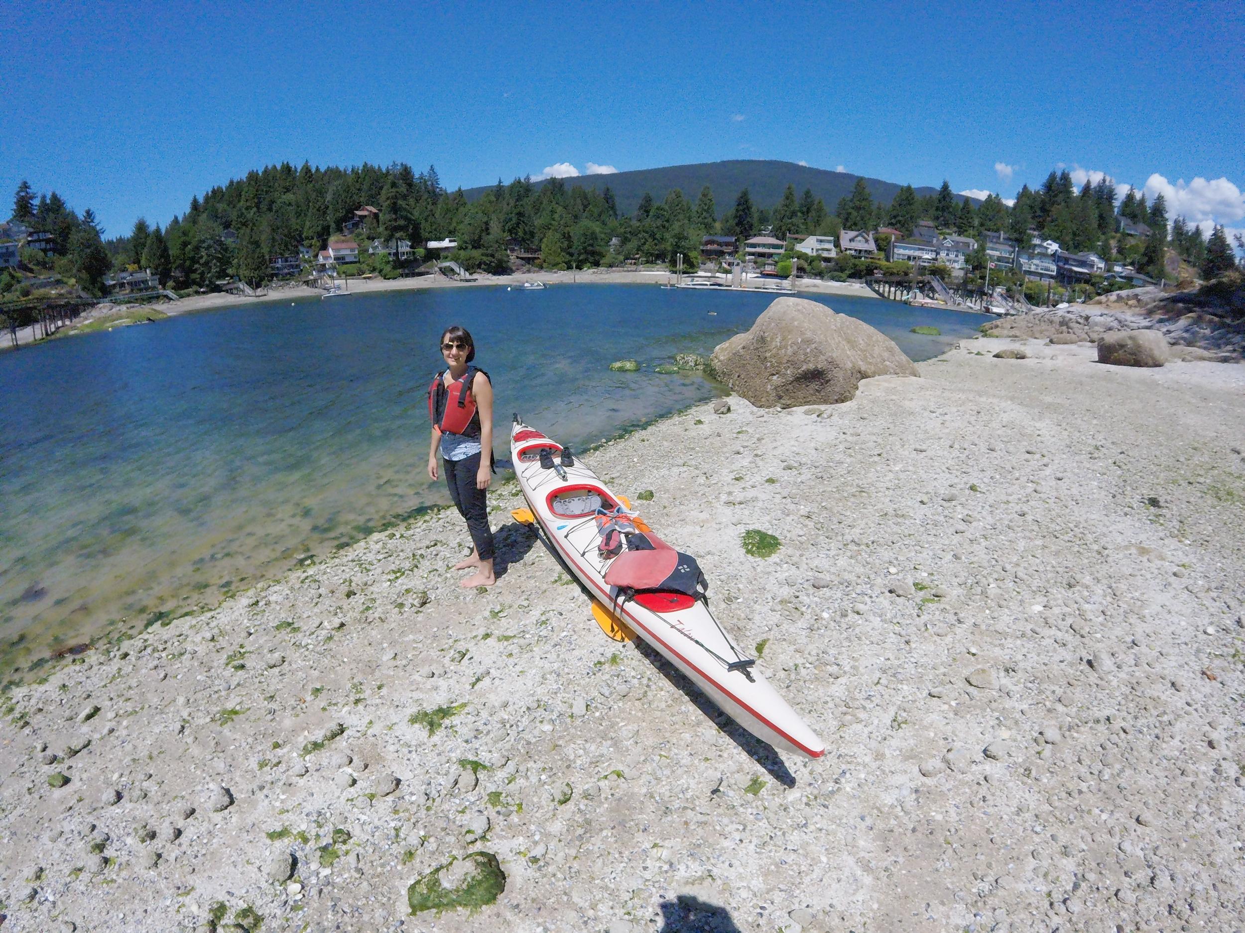 Kayak Deep Cove