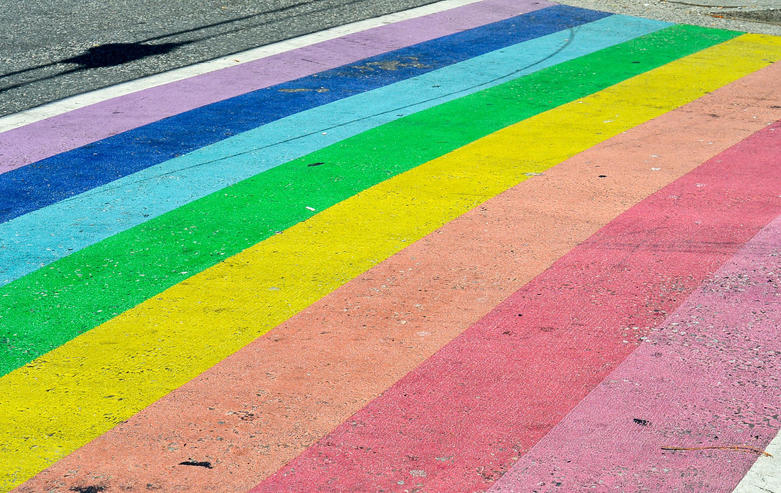 Davie Street Rainbow Vancouver