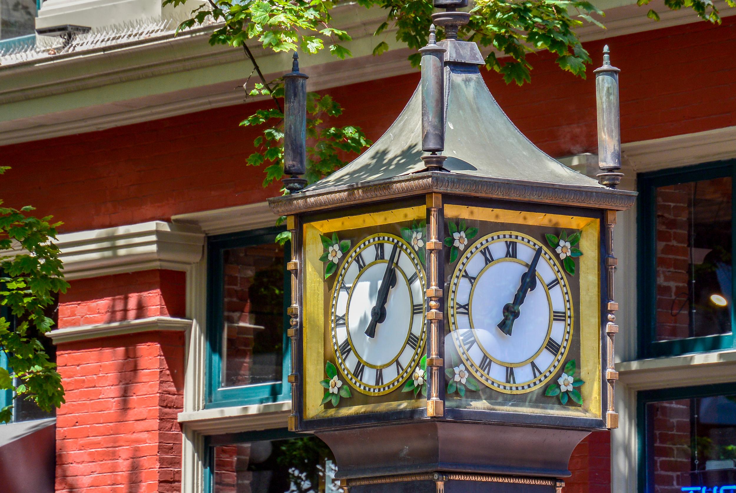 Steam Clock Gastown