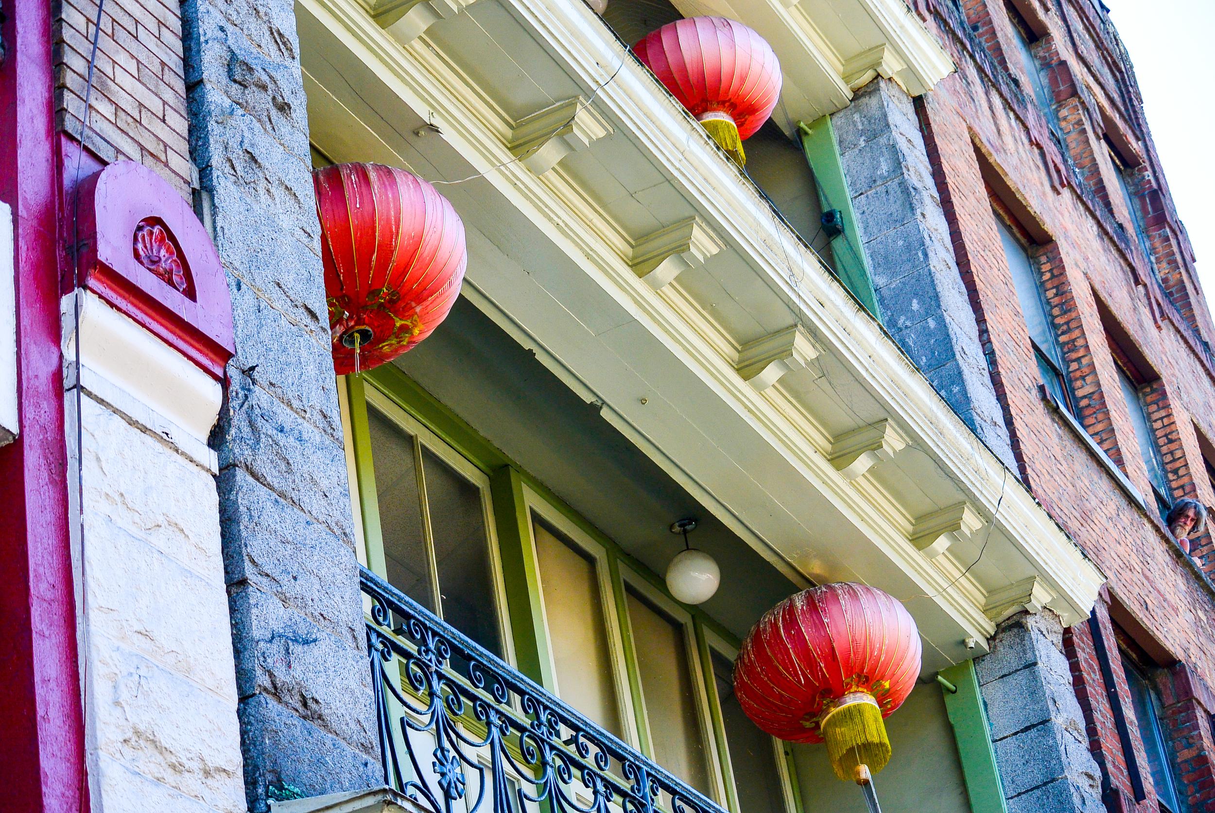 Vancouver Chinatown Lanterns