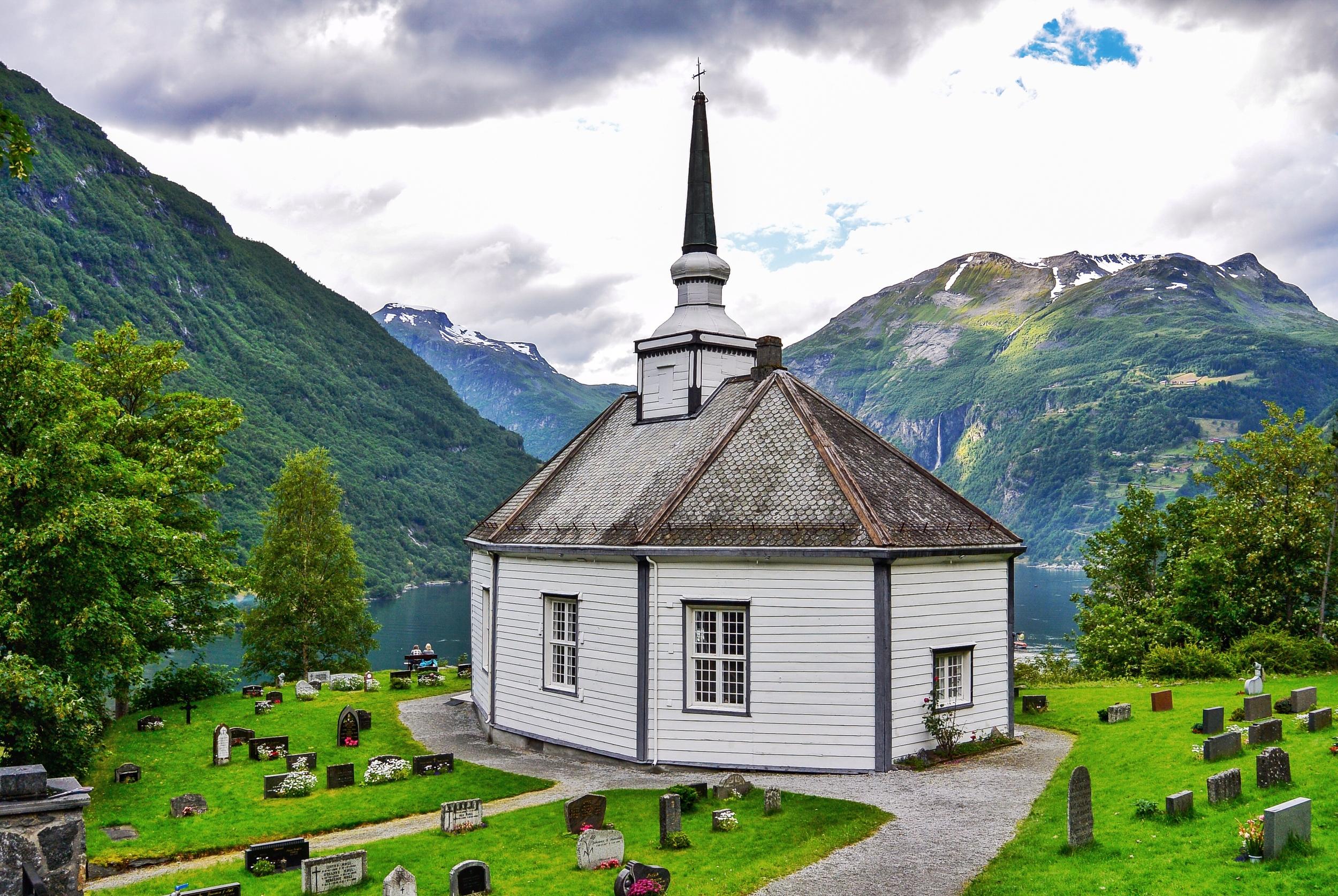 GEIRANGER Church  NORWAY