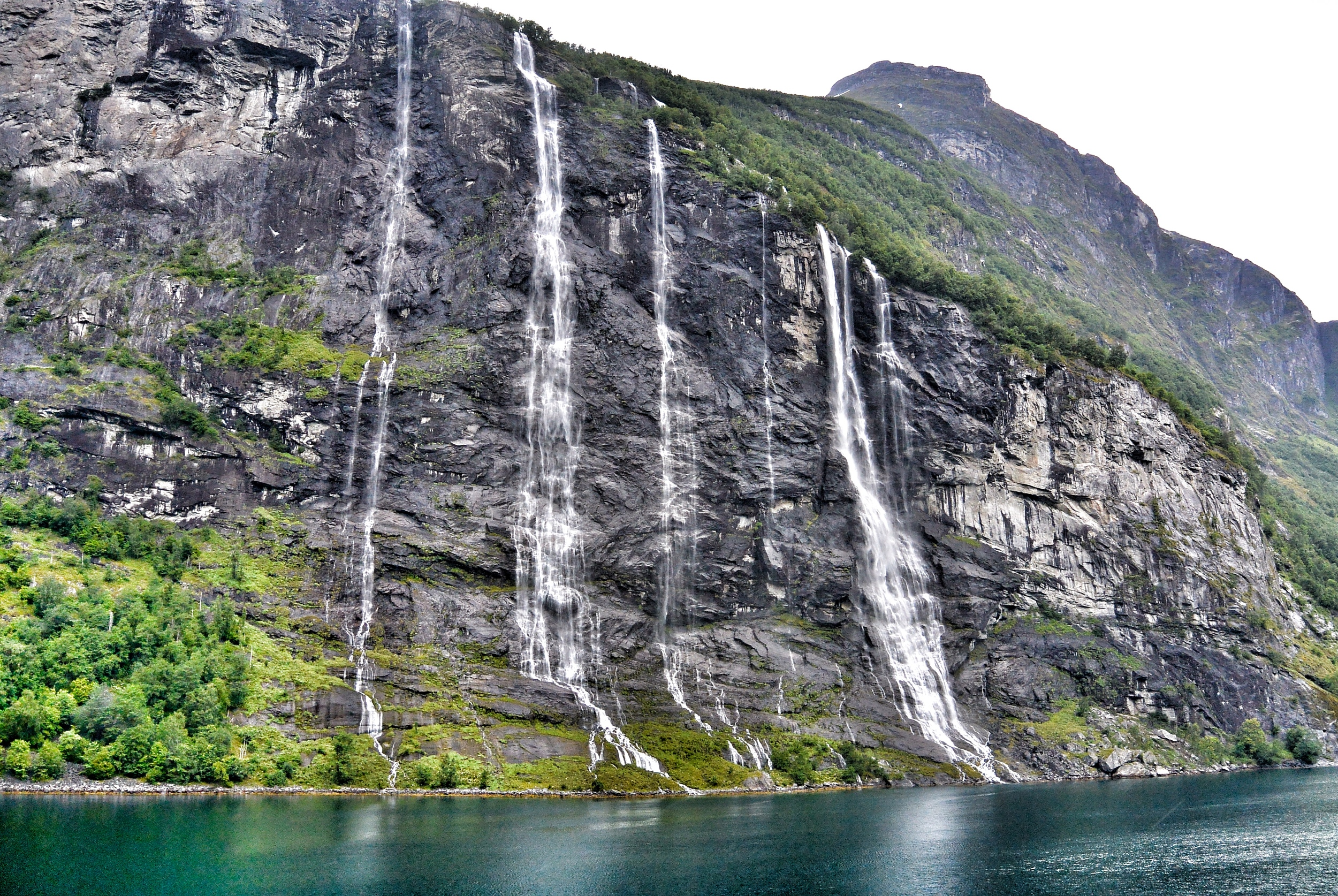 Seven Sisters GEIRANGERFJORD NORWAY