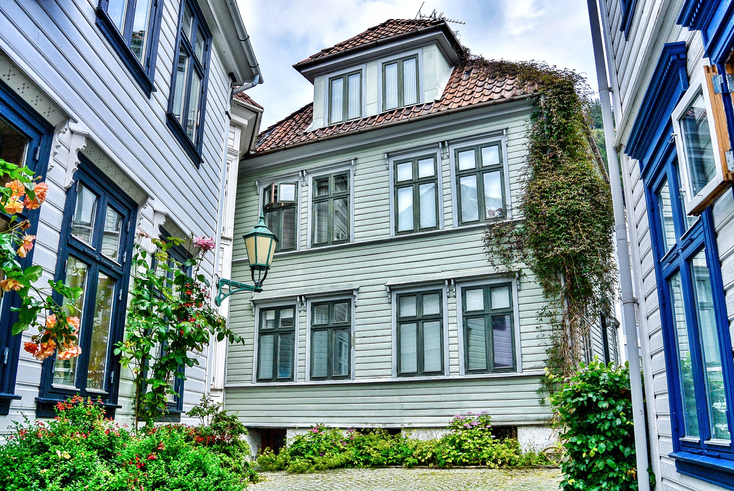 Downtown Bergen Houses