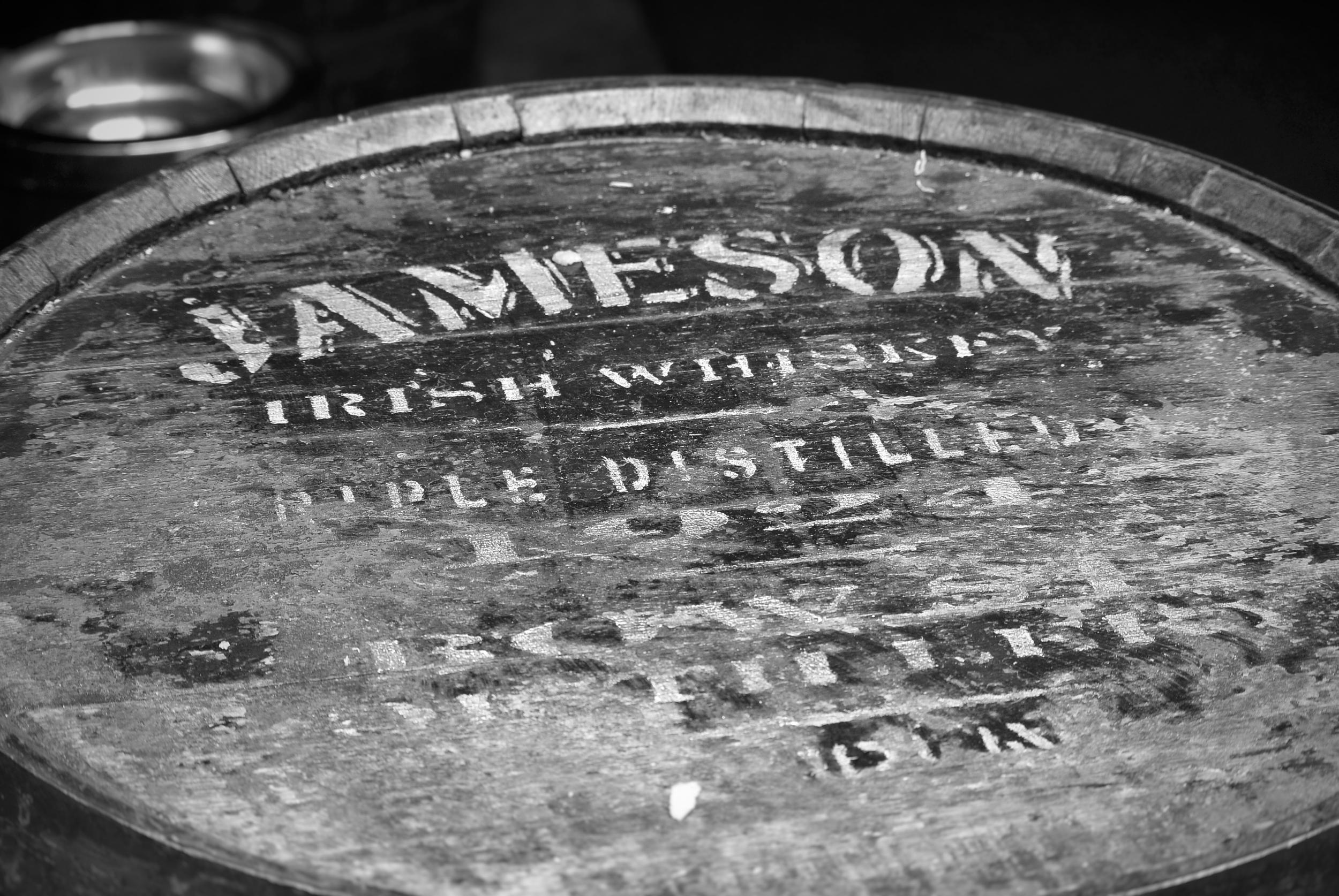 Jameson Irish Whiskey Barrel, Dublin